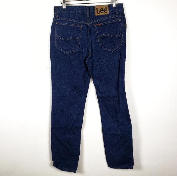 Lee Other - Lee | Dark Wash Blue Work Jeans Mens 32x32 GUC